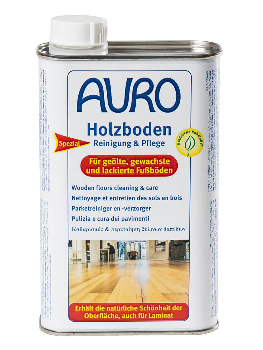 AURO Holzboden Reinigung & Pflege