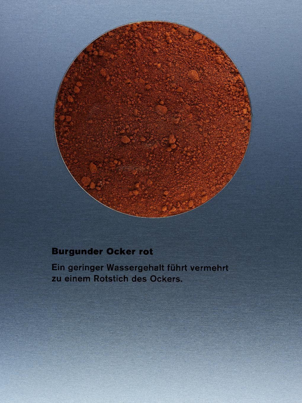Kremer Erde Pigmente ° Burgunder Ocker rot dunkel, fein