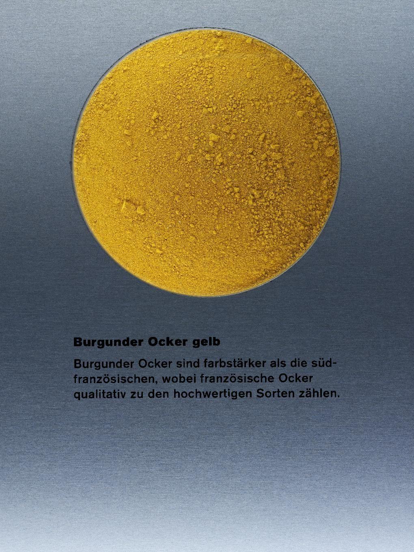 Kremer Erde Pigmente ° Burgunder Ocker gelb, fein