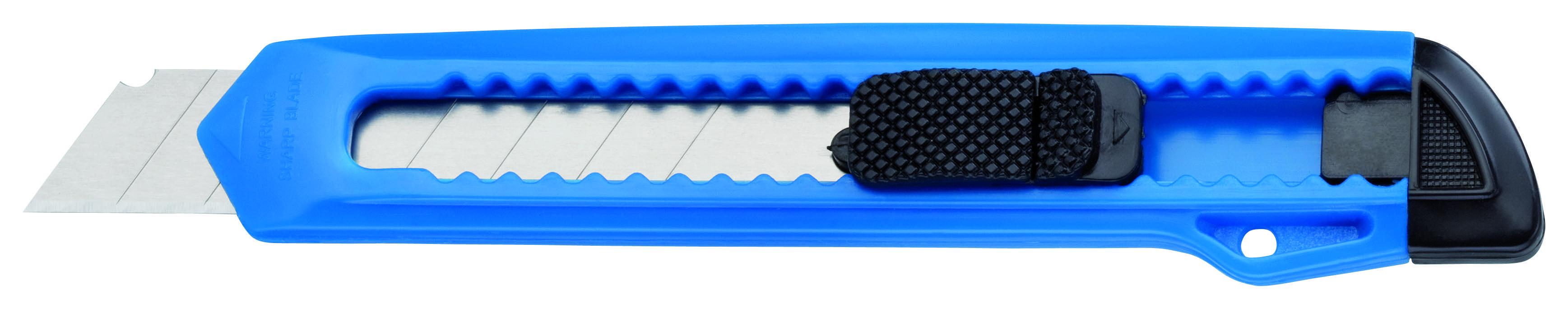 STORCH Abbrechmesser breit, blau