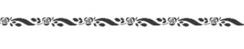 Storch Schablone (einschlägig) 25 12 02 Floral