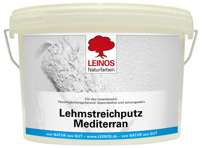 Leinos Lehmstreichputz