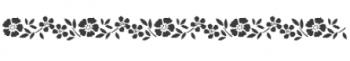 Storch Schablone (einschlägig) 25 12 13 Floral