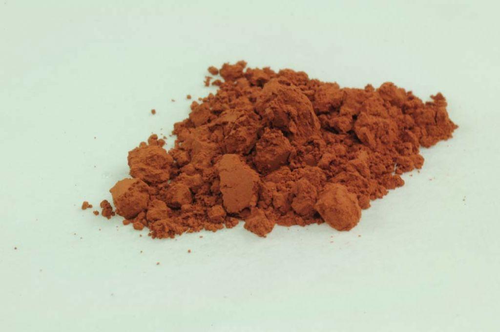 Kremer Erde Pigmente ° Burgunder Ocker rot, fein