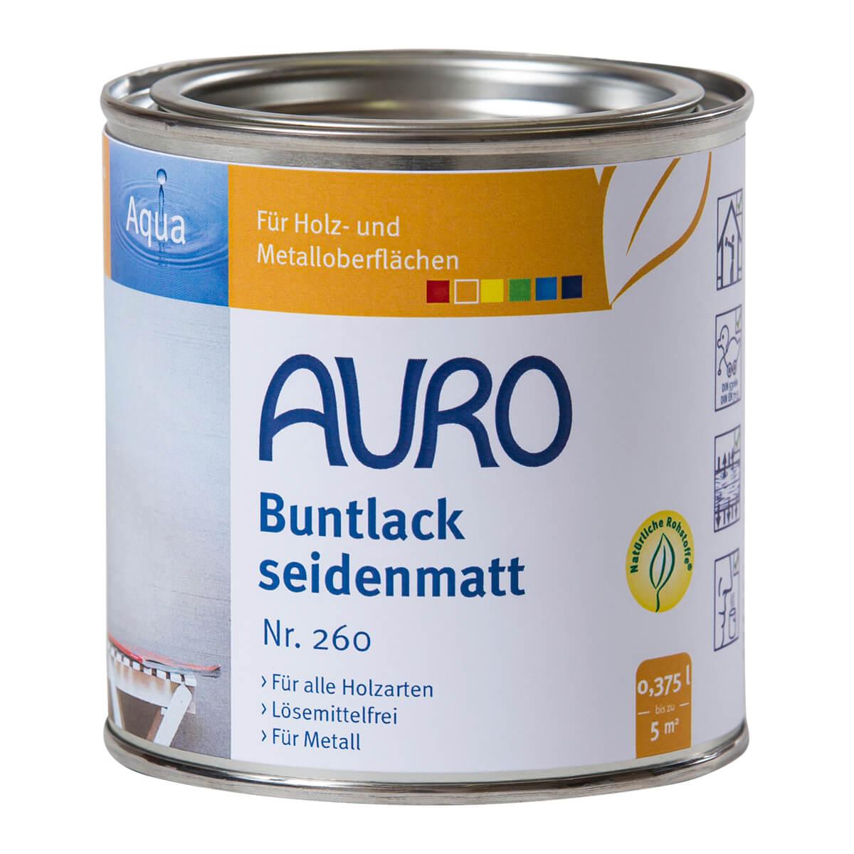 AURO Buntlack & Weißlack ° seidenmatt