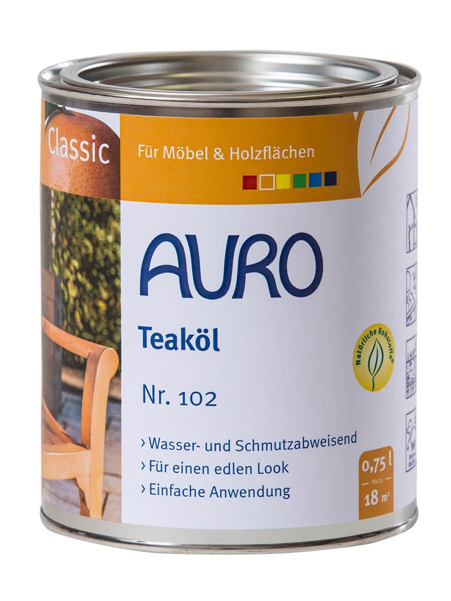AURO Gartenmöbelöl ° Classic