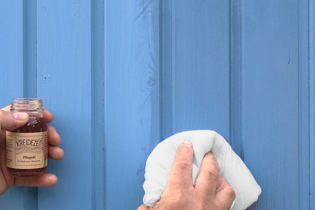 Kreidezeit Pflegeöl ° für Holzfenster / Ölanstriche