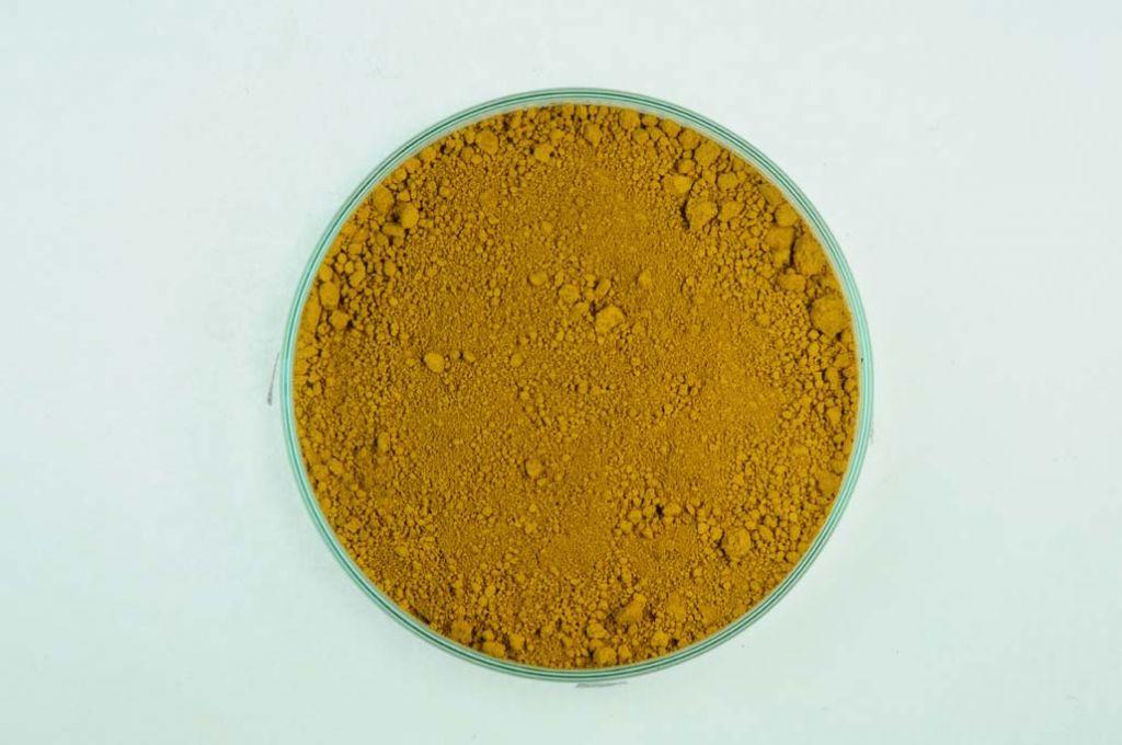 Kremer Erde Pigmente ° Eisenoxidgelb 415, grünlich
