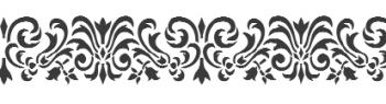 Storch Schablone (einschlägig) 25 17 06 Nostalgisch