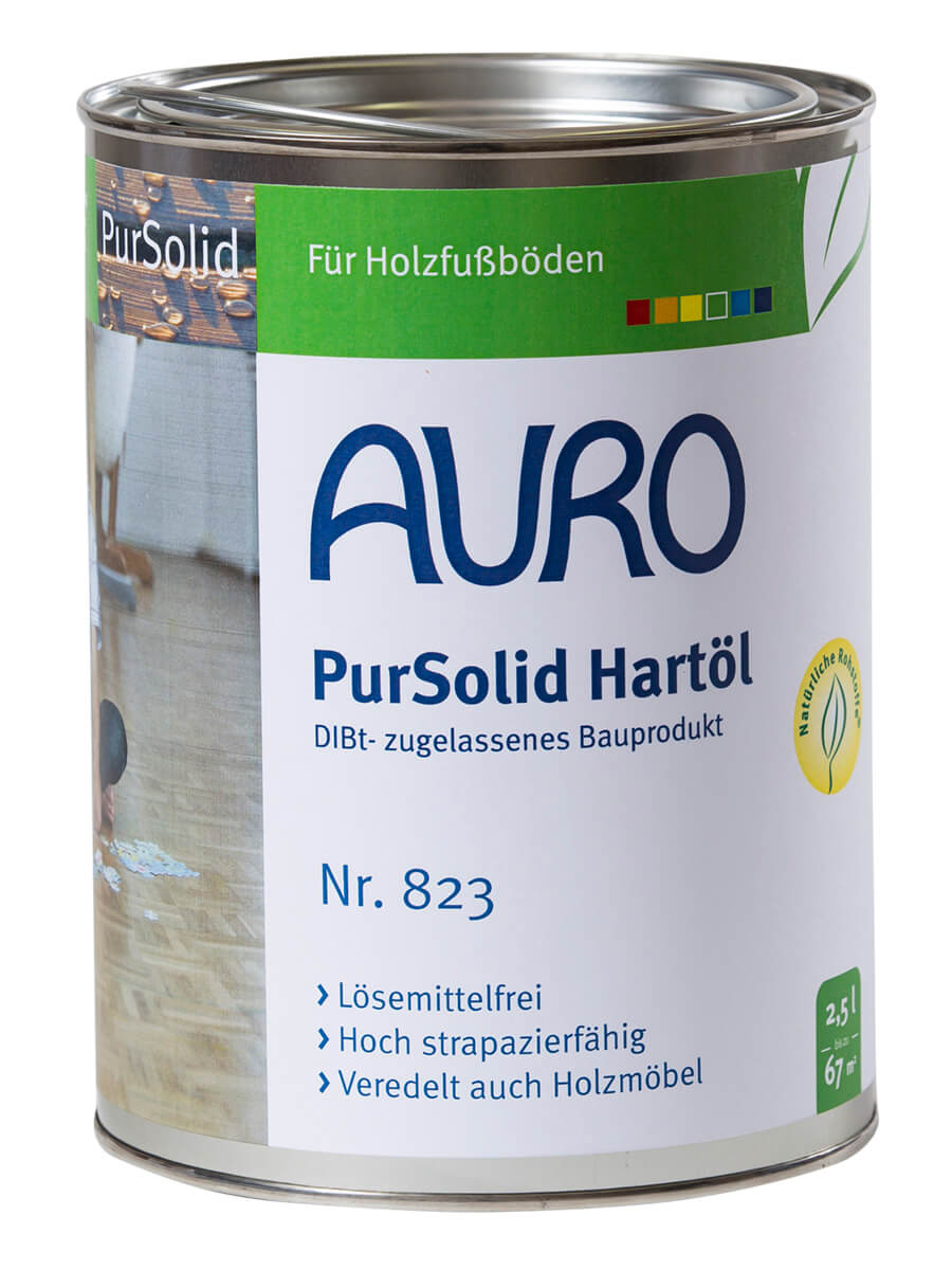 AURO PurSolid Hartöl ° DIBt-zugelassenes Bauprodukt
