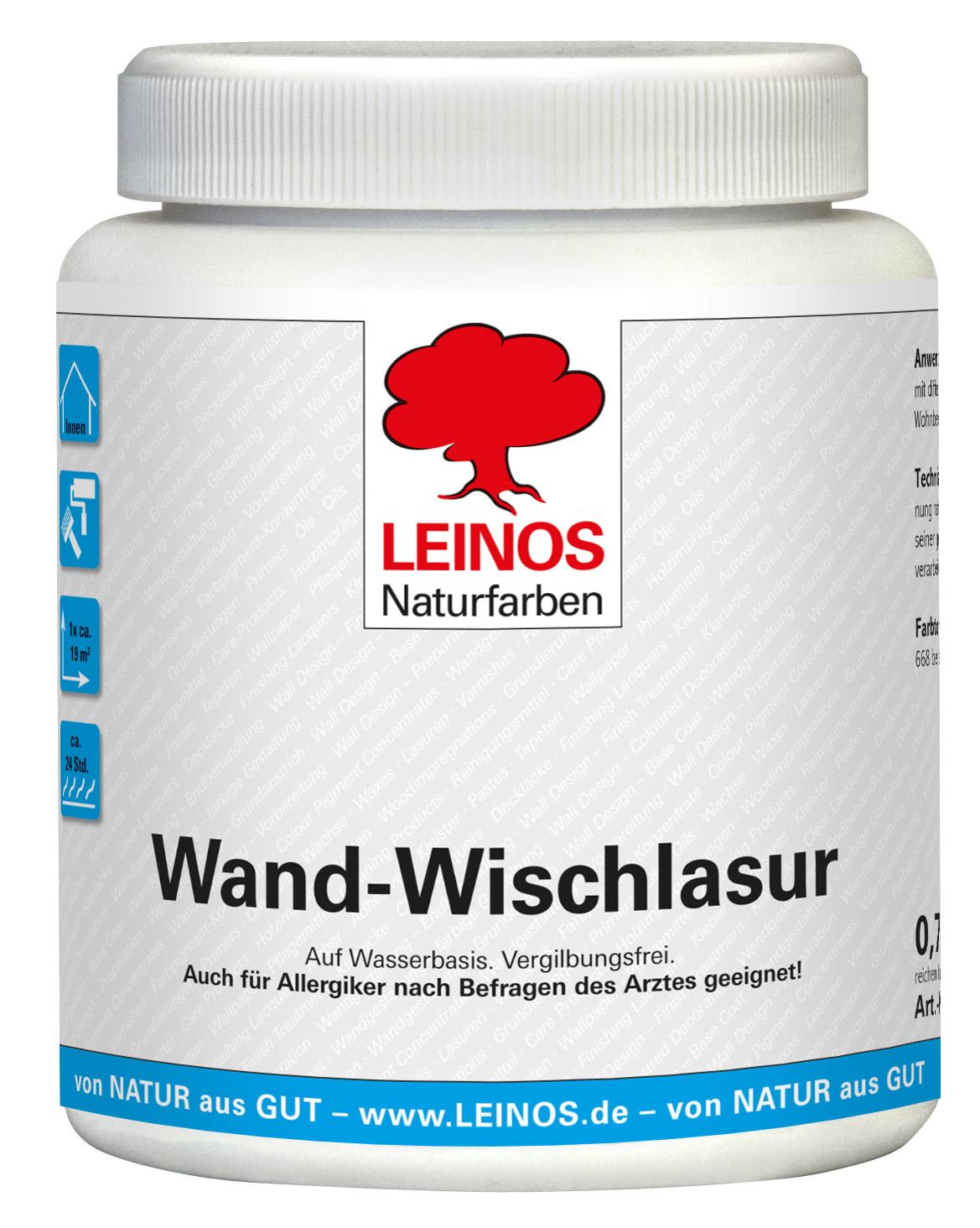 Leinos Wand-Wischlasur