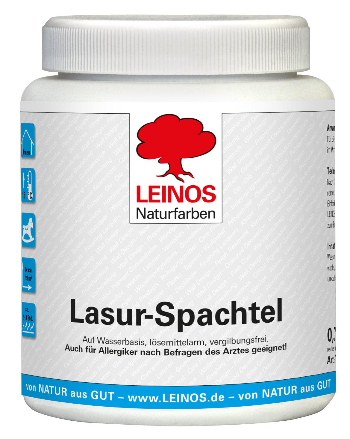 Leinos Lasur-Spachtel