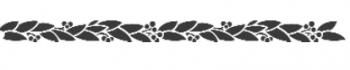 Storch Schablone (einschlägig) 25 12 08 Floral