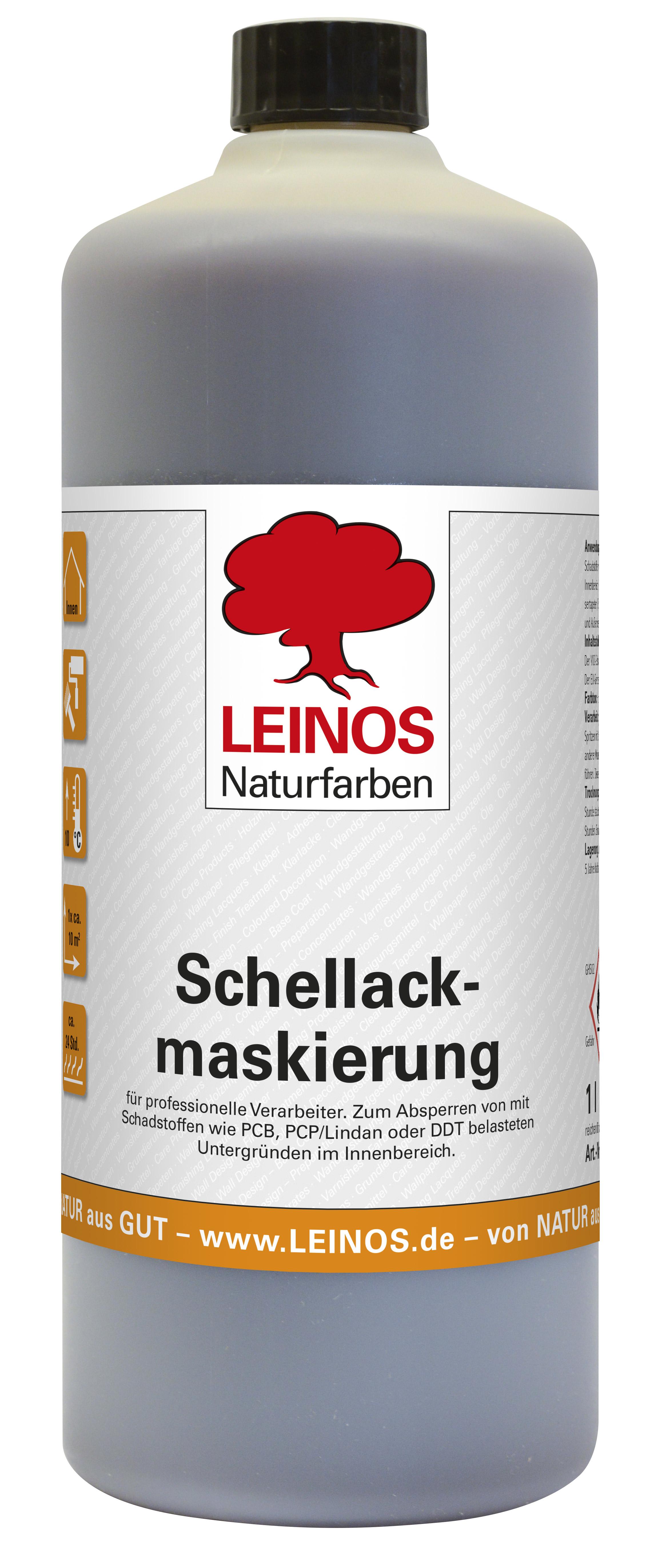 Leinos Schellackmaskierung