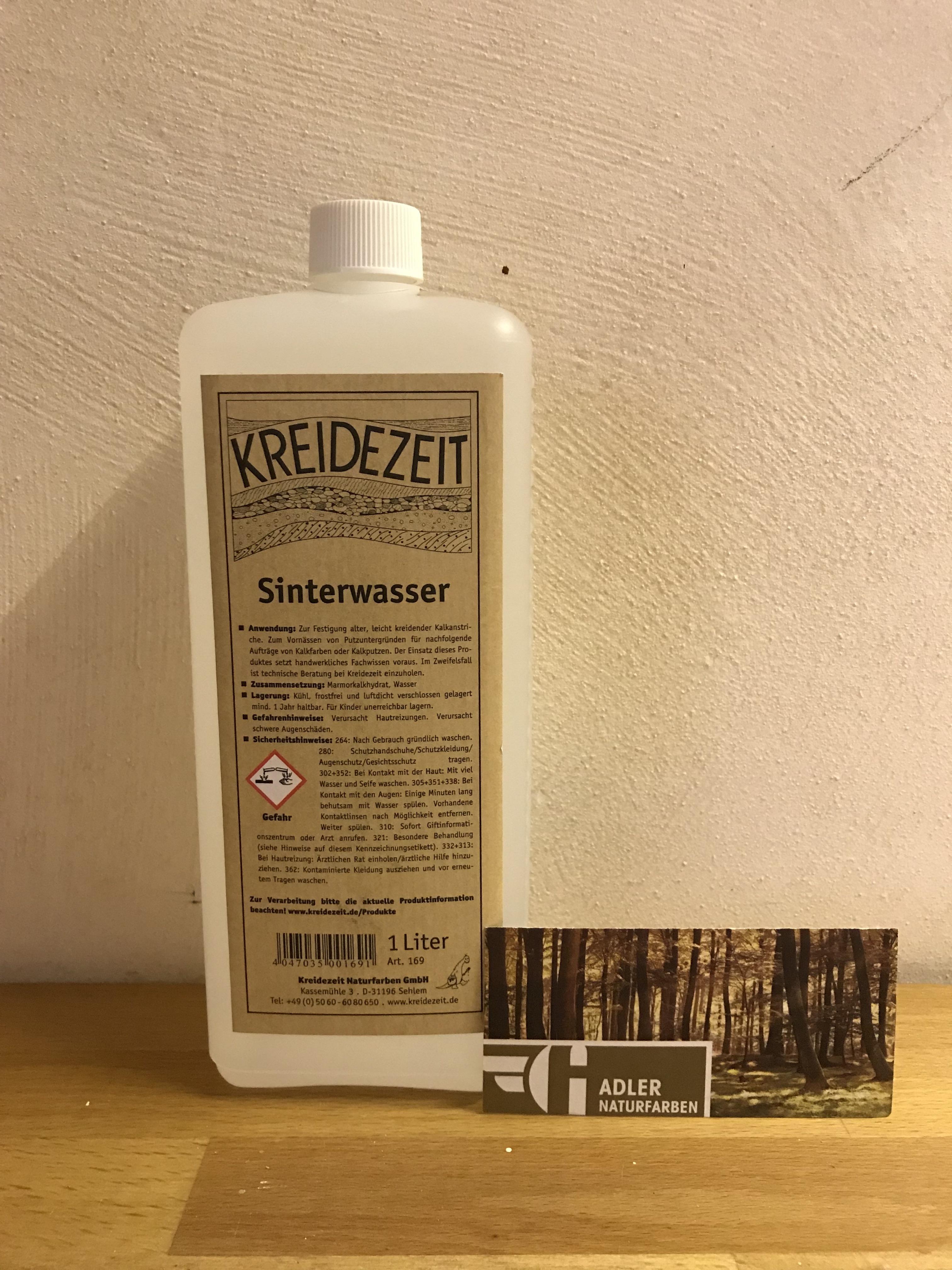 Kreidezeit Sinterwasser 1 l