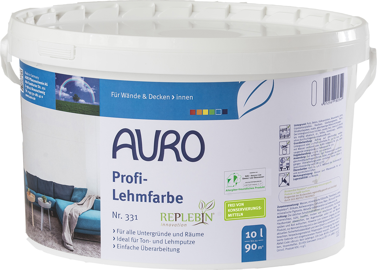 AURO Profi-Lehmfarbe