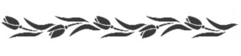 Storch Schablone (einschlägig) 25 12 10 Floral