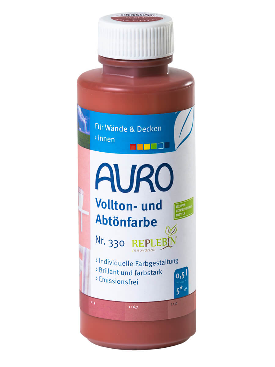 AURO Vollton- und Abtönfarbe