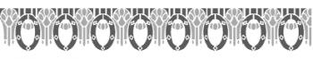 Storch Schablone (zweischlägig) 25 26 03 Jugendstil