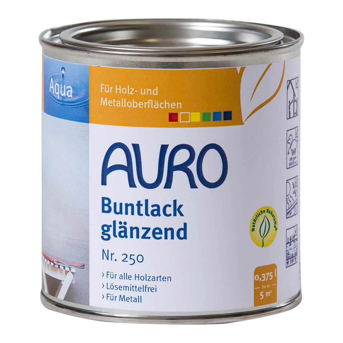 AURO Buntlack & Weißlack ° glänzend
