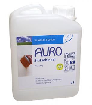 AURO Silikatbinder, 2 ltr., Nr. 304