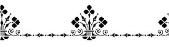 Storch Schablone (einschlägig) 25 19 03 Historismus