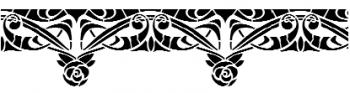 Storch Schablone (einschlägig) 25 16 09 Jugendstil