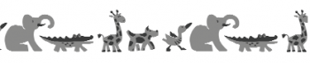 Storch Schablone (zweischlägig) 25 25 06 Kind