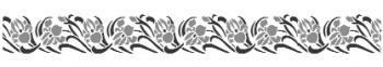 Storch Schablone (zweischlägig) 25 26 01 Jugendstil