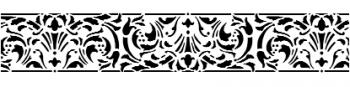 Storch Schablone (einschlägig) 25 19 01 Historismus