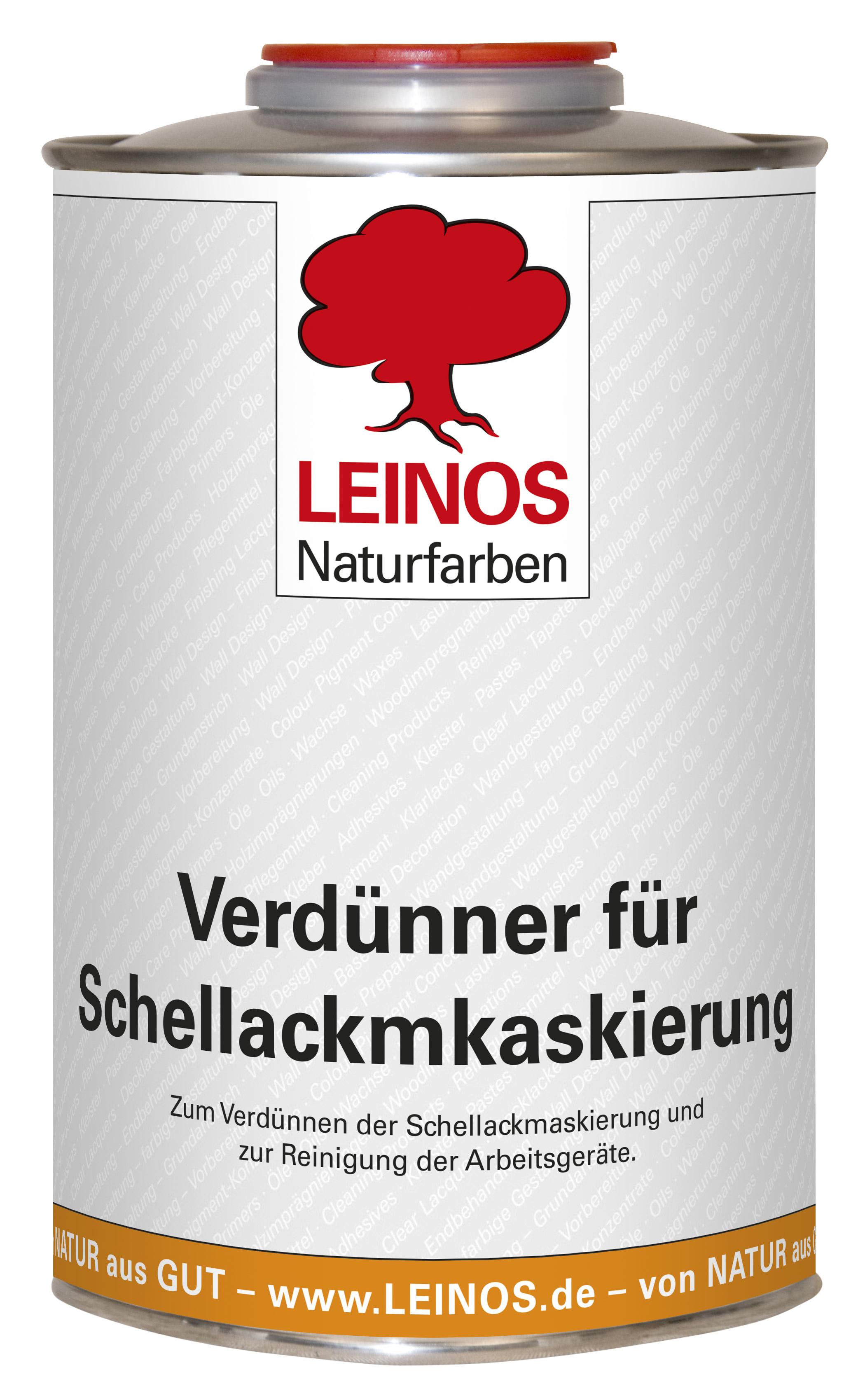 Leinos Verdünner für Schellackmaskierung