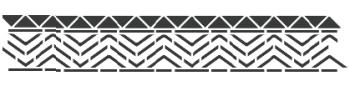Storch Schablone (einschlägig) 25 13 06 Ethno