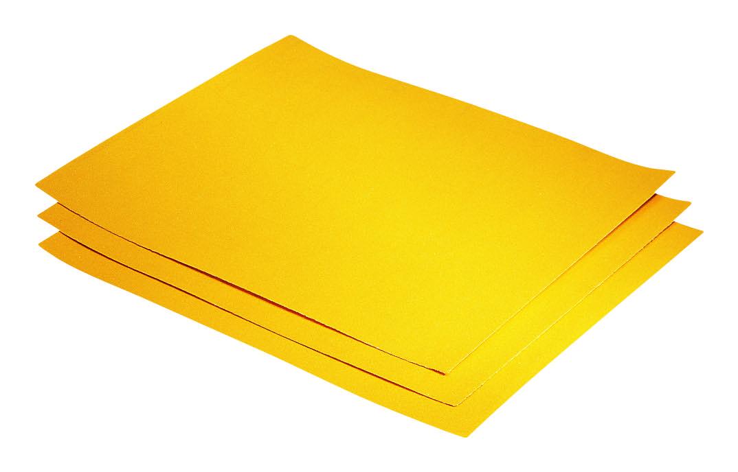STORCH Universal-Schleifpapier (gelb) -Profi Qualität- Blattware Merel