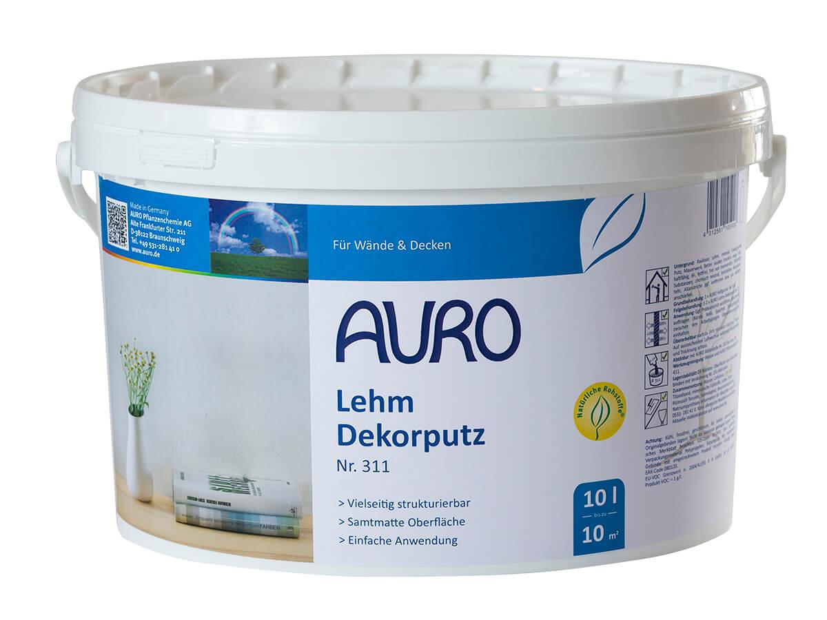 AURO Lehm-Dekorputz
