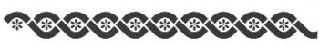 Storch Schablone (einschlägig) 25 14 10 Antik