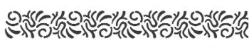 Storch Schablone (einschlägig) 25 13 09 Ethno
