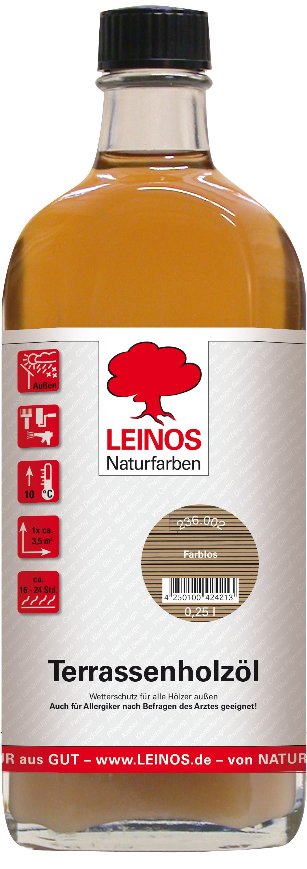 Leinos Terrassenholzöl