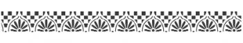 Storch Schablone (einschlägig) 25 14 13 Antik