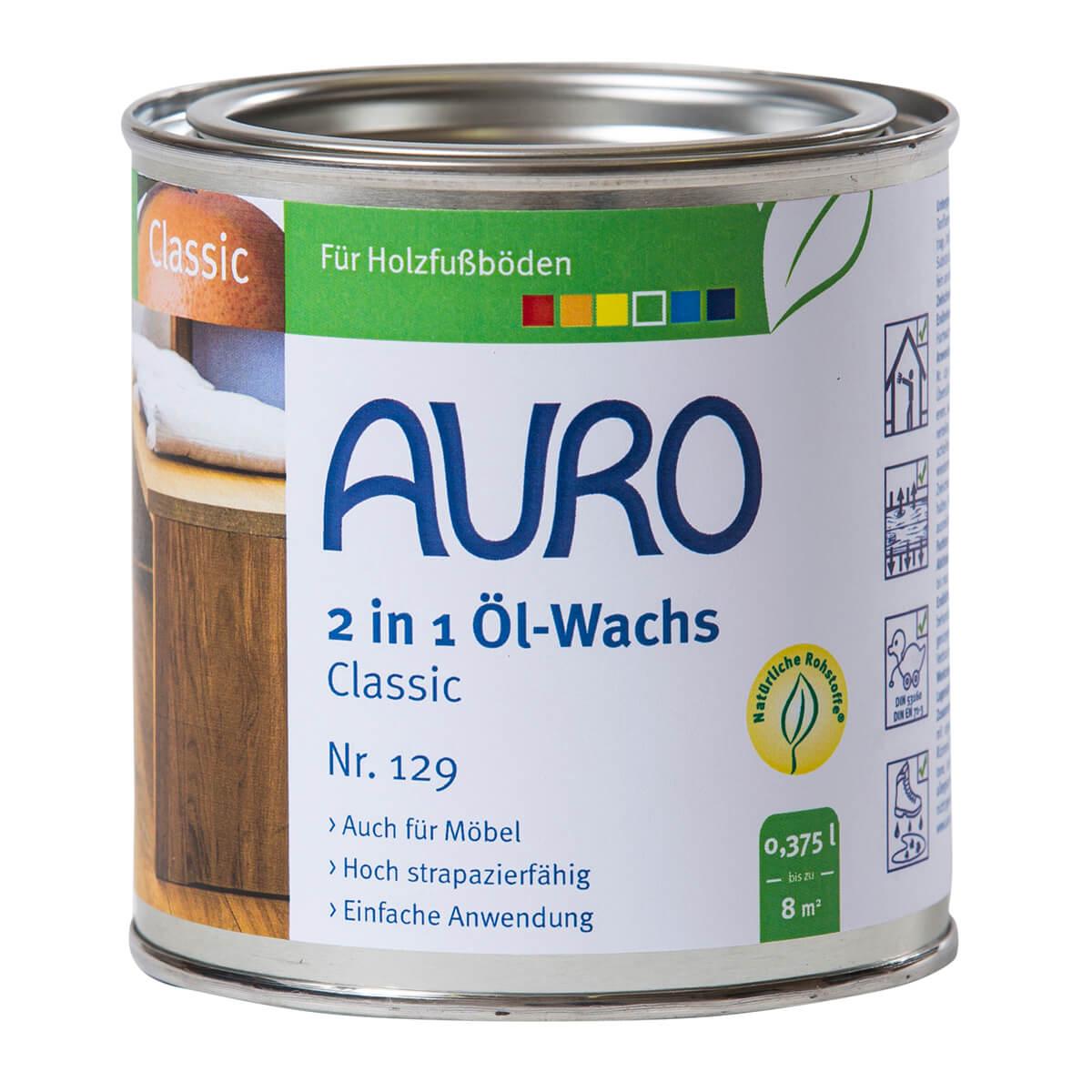 AURO 2 in 1 Öl-Wachs ° Classic