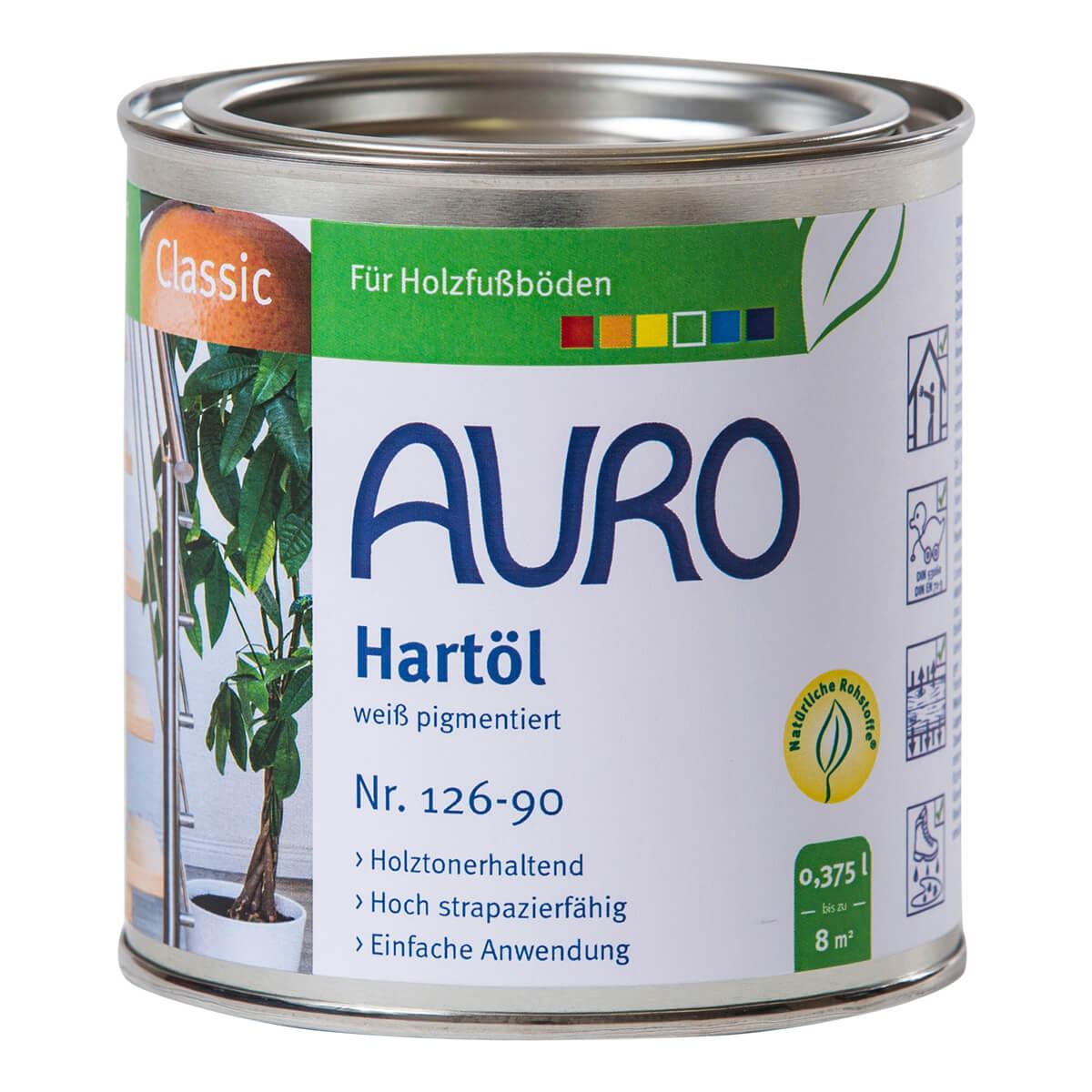 AURO Hartöl ° weiß pigmentiert