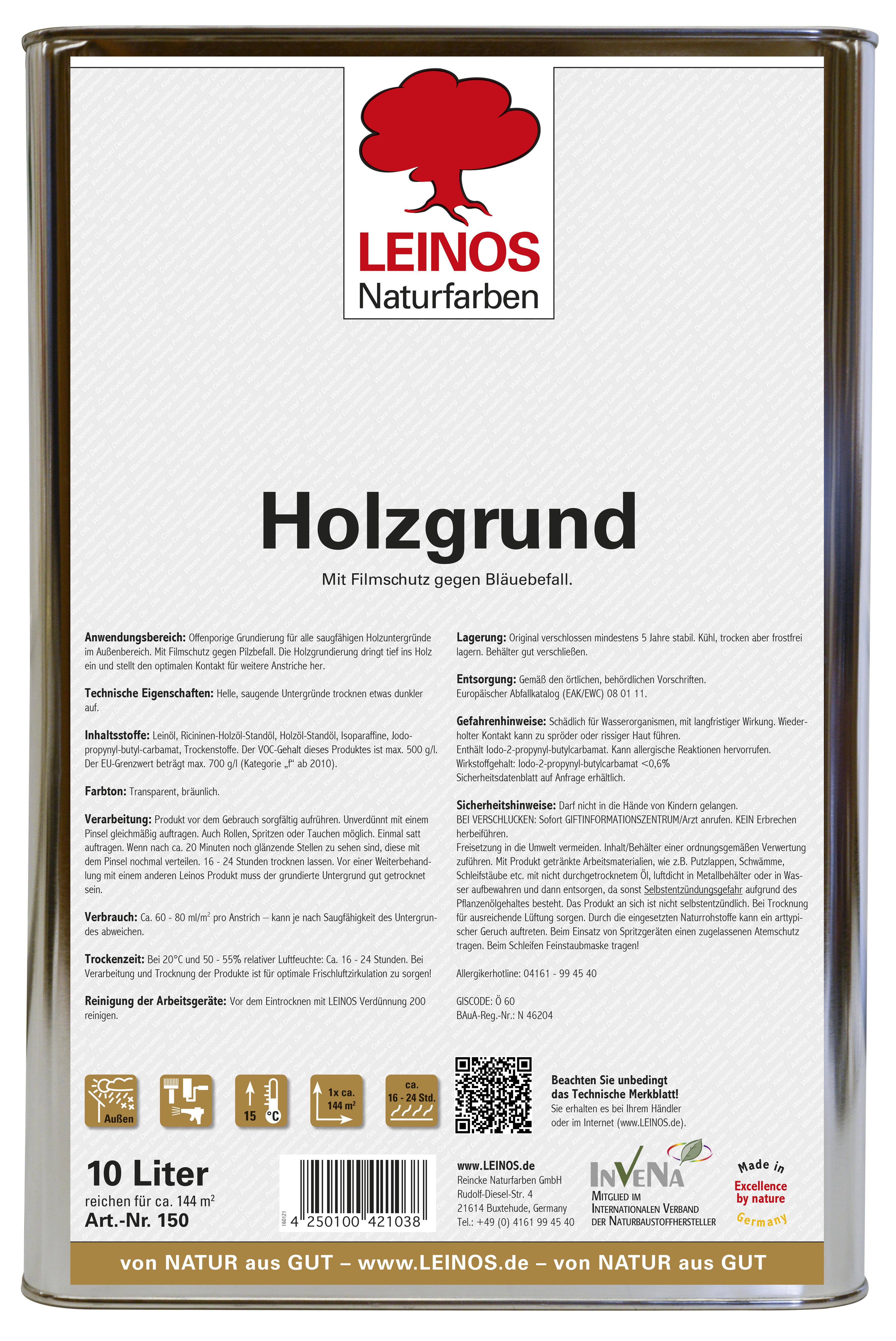 Leinos Holzgrund